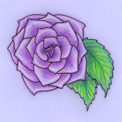 how to draw a purple flower how to draw a heart with a rose step 61 1jpg male models picture