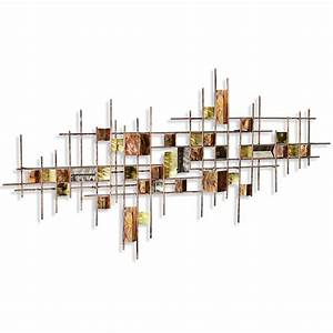 innovative metal wall art abstract decor contemporary With kitchen colors with white cabinets with abstract outdoor metal wall art