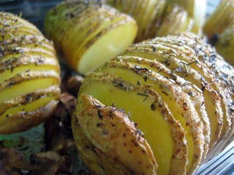 recette de pommes de terre au four avec une pr 233 sentation