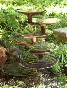 une fontaine de jardin design quelques id 233 es en photos fascinantes archzine fr