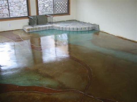 acid wash concrete floor from my house nourishing
