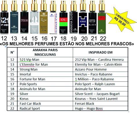 Perfumes Francês Inspirados Nas Melhores Fragrâncias - R ...