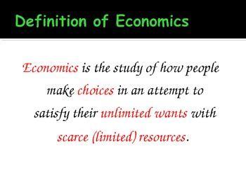 economics  introduction  economics powerpoint