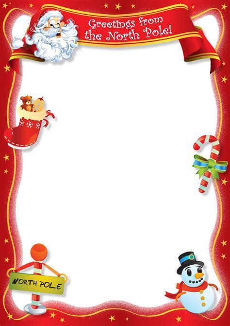 blank letter  santa template  calendar