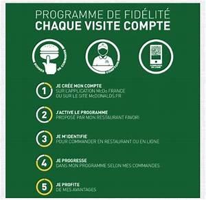 Carte De Fidélité Auchan Fr : mcdonald 39 s lance un nouveau programme de fid lit ~ Dailycaller-alerts.com Idées de Décoration