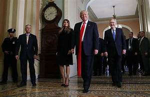 Somebody Is Photoshopping Pics Of Trump With Really Long ...
