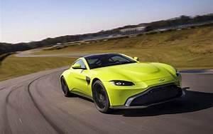 Download Wallpapers Aston Martin Vantage  Road  2019 Cars  Supercars  New Vantage  Aston Martin