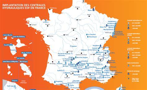 Carte Fleuves Europe Centrale by Carte Des Centrales Hydrauliques Fran 231 Aises G 233 O 213