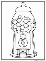 Gumball Coloring Machine Pages Printable Print Getcolorings sketch template