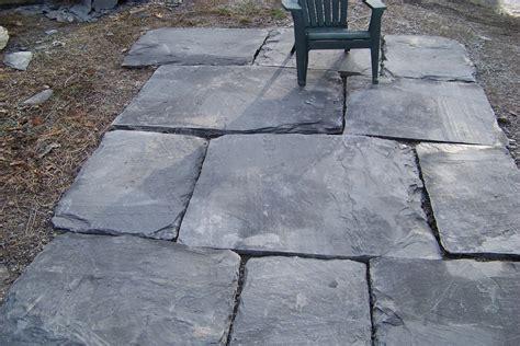 ginormous slate patio stones