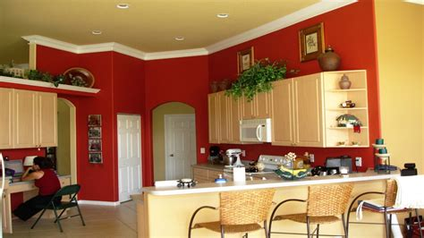 Tropical Dining Wall Color, New Colors For Kitchen Walls