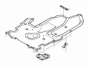 Bmw 530xi Underfloor Coating Cover  Engine