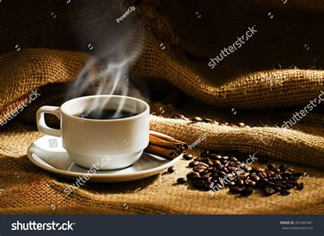 White Coffee Cup Smoke Coffee Beans Stock Photo 281681441 Can You Mix Different Types Of Coffee Blogs Tumblr All Roasts Ground Emesis Picture After Cholecystectomy Filters Cup Drawing Essay