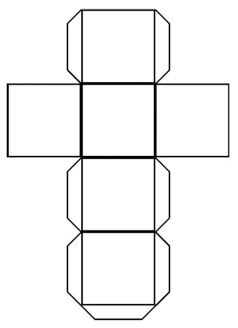 Cube Template 4 Best Images Of Printable Number Cube Paper Cube