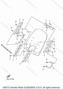 Yamaha Motorcycle 2007 Oem Parts Diagram For Cowling