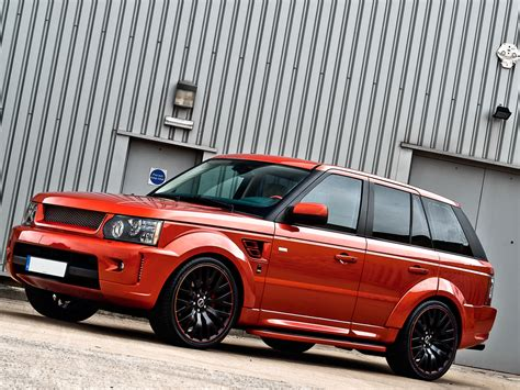 land rover kahn range rover sc kahn rs600 copper metallic autoevolution