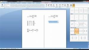 Het Invoegen Van Formules In Word - 69 Mp4