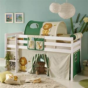 Kinderzimmer Für Zwei : vorhang bettvorhang stoff safari dschungel f r hochbett spielbett kinderzimmer ebay ~ Indierocktalk.com Haus und Dekorationen