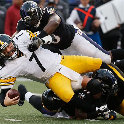 steelers  ravens postgame grades notes  quotes