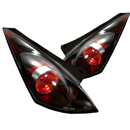 nissan 350z tail lights 03 05 nissan 350z 350 z fairlady altezza black tail lights