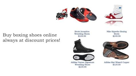 Boxing Shoes Online