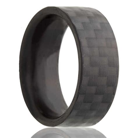 carbon fiber jewelry heavy stone rings