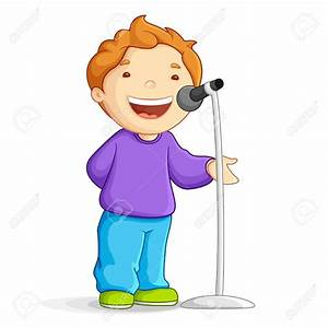 Best Children Singing Clipart #19623 - Clipartion.com