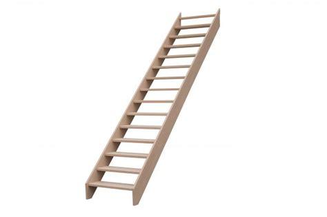 escalier droit sans contremarches balustres aluminium