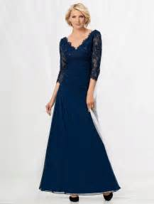 Plus Size Mother of Bride Long Dresses
