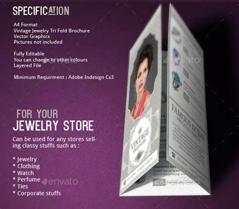 jewelry brochure design  blogankids graphicriver