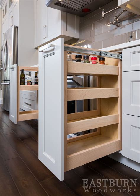 white kitchen cabinet drawers white kitchen cabinets with pull out spice drawers and