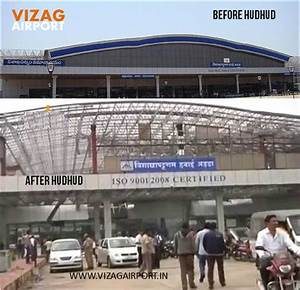 Vizag Airport: VIZAG AIRPORT BEFORE AFTER HUDHUD PICS