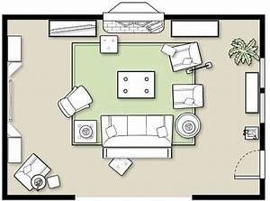Furniture Placement In A Large Room
