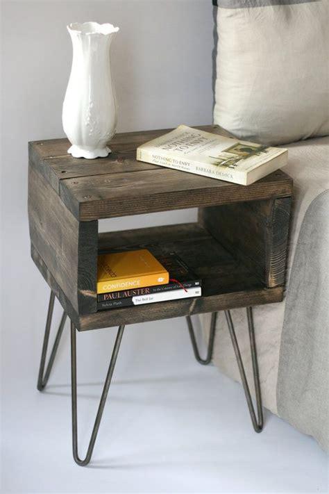 handmade bedside tables ideas  pinterest