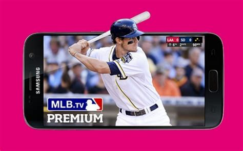 free tv on mobile free year of mlb tv valued at 119 for t mobile customers
