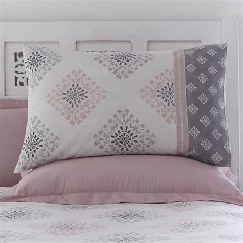 Indra   Blush Pink   Reversible   Duvet Cover Set   Tonys