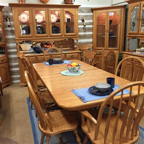 country dining room set featuring solid oak  custom
