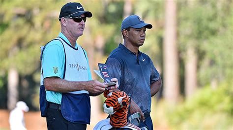 This man spent a boatload of money to be Tiger Woods' caddy