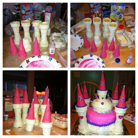 princess castle cake     bags