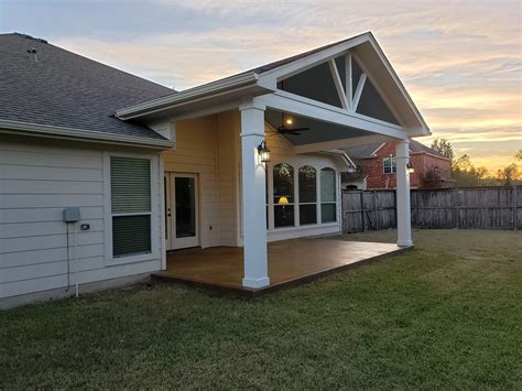 covered porch addition  pflugerville tx shows