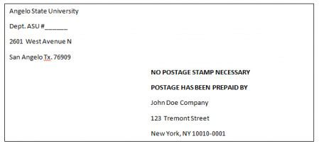 prepaid letters  mailing