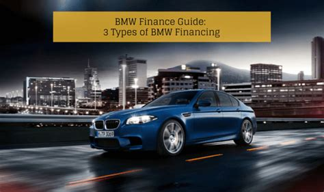 3 Types Of Bmw Financing