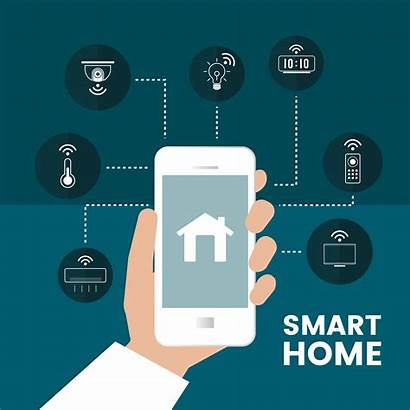 Infographic Smart Phone Vector Alarm Security Controlled