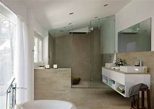 Große Fliesen Bad : moderne badezimmer 40 luxuri se einrichtungsideen ~ Sanjose-hotels-ca.com Haus und Dekorationen