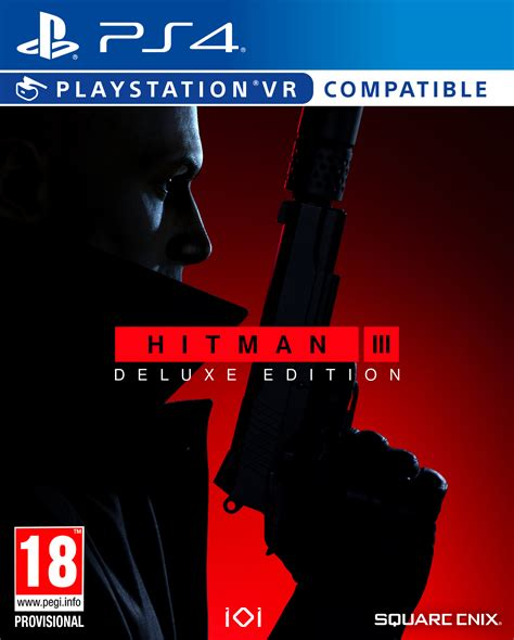 HITMAN III DELUXE EDITION [PS4]   Square Enix Store
