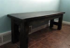 Ana White Farmhouse Table Bench