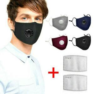 washable reusable  anti air pollution face mask