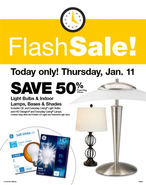 fred meyer flash sale 50 lightbulbs ls and