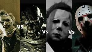 Leatherface Vs Jason Vs Freddy Vs Michael | www.pixshark ...