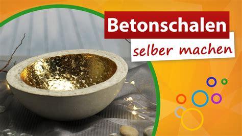 Betonschalen Selber Machen Anleitung by Knetbeton Schalen Diy Kreativ Beton Beton Deko Selber
